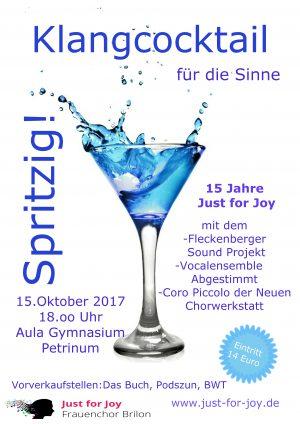 Jubiläumskonzert: Spritziger Klangcocktail mit tollen Gastchören