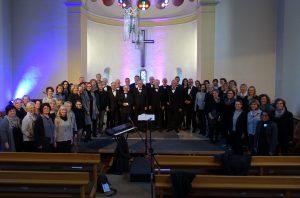 So 5.3.2017: Just for Joy und Hellweg-Quartett begeistern in der evangelischen Kirche