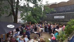Mo 09.07.18: Sommerliche Klänge mit Just for Joy im Museumsgarten Haus Hövener