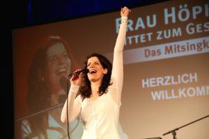 So 27.01.2019: Ausverkauftes Kolpinghaus – 400 begeisterte Sänger- und Sängerinnen – Nicht enden wollender Schlussapplaus – 3 Zugaben